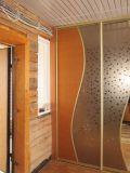 Встроенный шкаф с зашивками