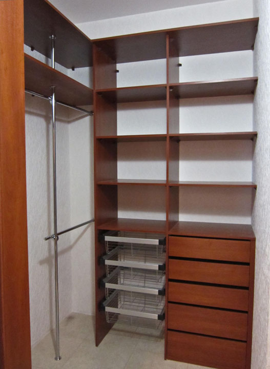 Гардеробные комнаты - портфолио - мебель на заказ. смоленска.
