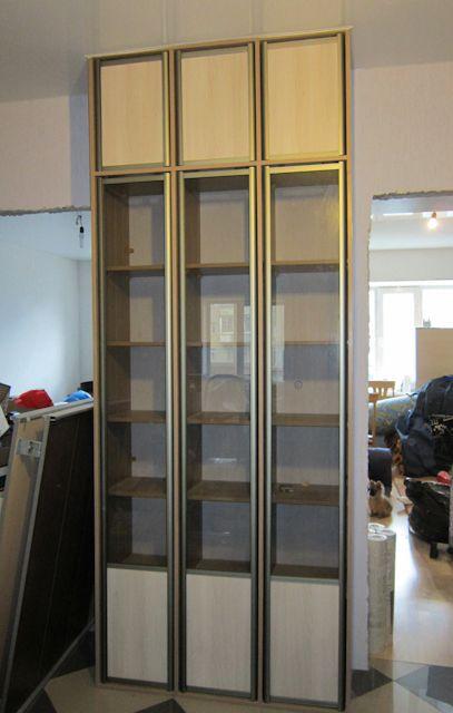 Стеллаж для книг на заказ - встроенные шкафы - портфолио - и.